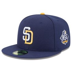 ac3601349dd San Diego Padres New Era Authentic Collection 2016 All-Star Game On Field  59FIFTY Fitted Hat - Navy
