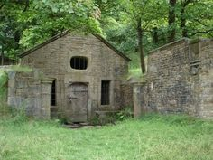 The Mystical Well House, Hollinshead Hall, Tockholes, Lancashire.
