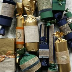 Ribbed Kraft Wrapping Paper