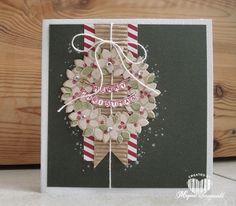 Magical Scrapworld: Merry Christmas , Stampin' Up! wonderous wreath