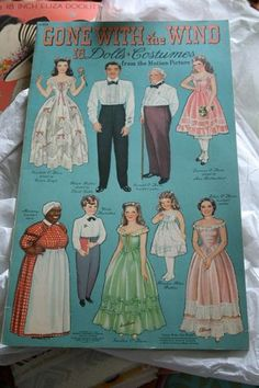Gone With The Wind Paper Doll Vintage Collectable