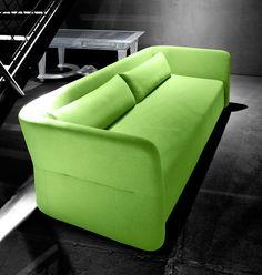 """SOFTLINE Sofa """"'Carmen"""" grün"""