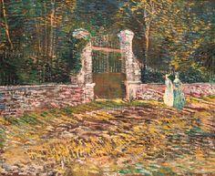 Vincent van Gogh (1853-1890) L'Entrée de parc de Voyer-d'Argenson à Asnières Price realised USD 1,766,000 Estimate USD 1,200,000 - USD 1,600,000