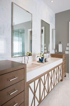 Bathroom Cabinet Ideas. Bathroom Custom Cabinet Design Ideas #BathroomCabinet #BathroomCabinetDesign