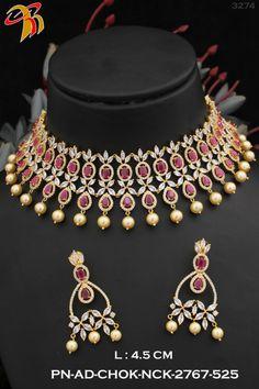 Ruby And Diamond Necklace, Gold Choker, Chokers, Jewellery, Fashion, Moda, Jewels, Fashion Styles, Schmuck