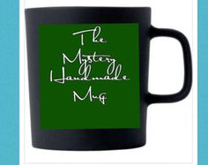 Mystery Goodies Filled Handmade Pottery Coffee/Tea Mug!!!