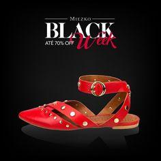 As flats poderosas estão com até 70% desconto na #BlackWeek do Shop Miezko! Confira tudo no link da bio😉#miezko #descontos