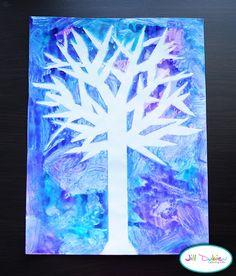 winter tree silhouette | Meet the Dubiens