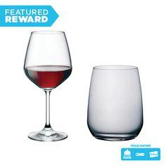 Bormioli Rocco Drinkware - Set of 8 #flybuysnz #bormioli #215points #OFHNZ