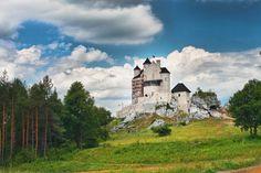 #Castle of Bobolice, Poland / Królewski #Zamek Bobolice na Jurze Krakowsko-Częstochowskiej w trakcie rekonstrukcji #zamki #jura