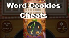 8 best <b>Word Cookies</b> Hack and <b>Cheats</b> images on Pinterest in 2018