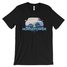 Horsepower Sport Car Tee