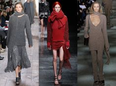 Chunky Knits from Top 10 Trends at New York Fashion Week Fall 2014  Stock up on chunky knit sweaters for next season--they're bound to be a big hit. Marc Jacobs, Michael Kors and Prabal Gurung all showed several cozy styles in a range of flattering colors.