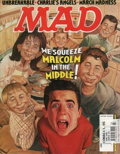 Parada did the cover, Tom Richmond the actual comic strip. March Malcolm in the Middle Voting Community Forums, we talk about the Emmy award winning TV show Malcolm in the Middle. Mad Magazine, Magazine Covers, People Magazine, Peppa Pig Imagenes, Alfred E Neuman, American Humor, American History, Mad Tv, Magazine Pictures