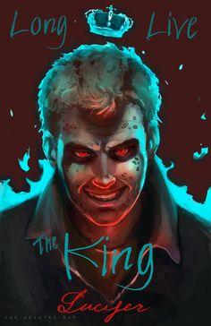 SPN- Lucifer by TheHauntedBoy.deviantart.com on @deviantART