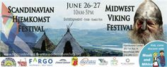 12. Scandinavian Hjemkomst Festival & Midwest Viking Festival - Clearly unique and very fun. Head to this festival next year for a taste of Nordic culture.