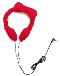 Make your own musical ear muffs.