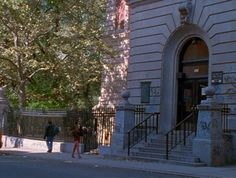 """The Seward Park Branch of The New York Public Library, as featured in """"Party Girl"""" (1995)"""
