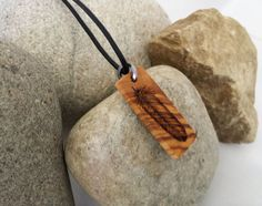Small Feather Necklace Wood Art Pyrography Feather by SepiaTree, $25.00 #smallfeather #feather #feathernecklace #necklace #woodart #pyrography #olivewood #etsy
