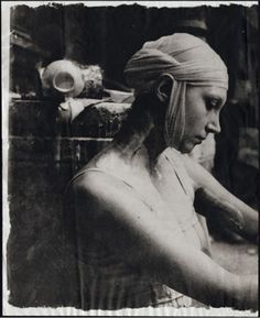 Deborah Turbeville – fromEcole Des Beaux Arts, 1977, from Past Imperfect
