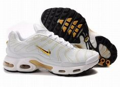 timeless design 8d64e 1347e Nike Air Max 97 Nike Air Max TN White Gold Leather  Nike Air Max TN - Do  you want to be more charming  Here are Nike Air Max TN White Gold Leather  ...