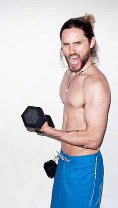 Jared Leto - #beast #flex #pumpit