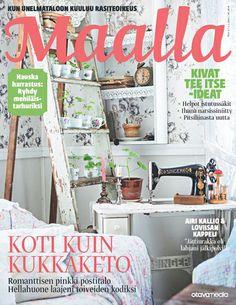 Maalla 02/14 Tässä numerossa DMI Design Minna I:n painettu räsymattotyyny sivulla 25! Tyynyn voi ostaa verkkokaupasta: www.pajaladesign.fi