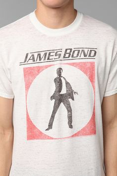 James Bond Burnout Tee #UrbanOutfitters