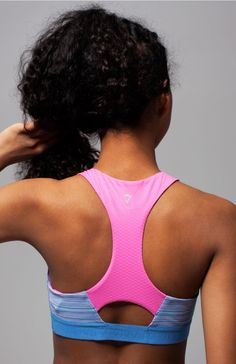 brushed elastic band is soft against your skin. | Get Loud Sports Bra
