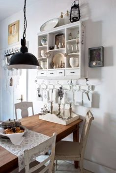"""This cosy dining area is from our feature """"Go with the Flow"""""""