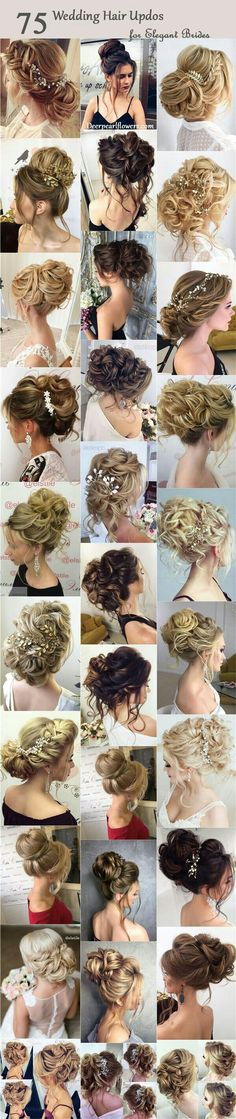 Top left or messy up bun