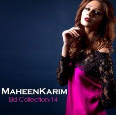 Smart Fashion Girls & Boys: Maheen Kareem Formal Evening Wear Dresses | Eid Co...