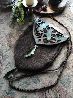 elven *oak leaves* handbag <3