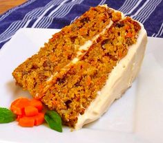 Carrot cake of healthy feed: low-cal and very tasty!