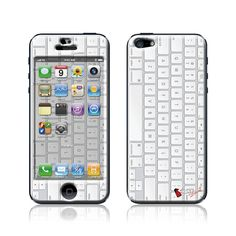 """Keypad"" Doming SmartphoneCover - iPhone5 www.cushyskins.com"