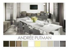 Andrée Putman - Design Colour Palettes  ©  Zena O'Connor