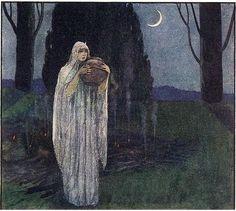 Under a waning moon (venusmilk: Artuš Scheiner poems inspired by old...)