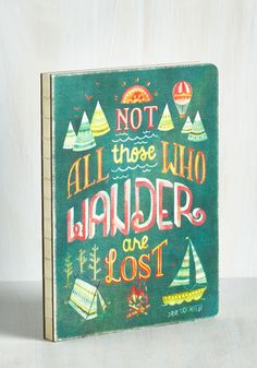 Full of Wander Journal, #ModCloth