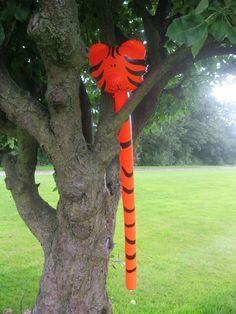 The Tiger likes to hang around! before summer toys parties Christmas Stocking Fillers, Christmas Gifts, Balloon Animals, Birthday Parties, Balloons, Seasons, Toys, Children, Outdoor Decor