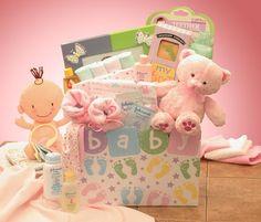 Baby Shower Gift Essentials Pink Or Blue