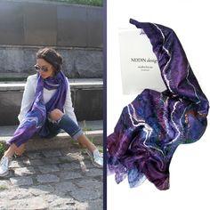 Shawl. Dark Blue Shawl wrap tippet scarf cape accessory Шаль Палантин Накидка аксессуар scarves wool silk 199.00 USD #goriani