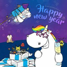 Pummeleinhorn Happy New Year