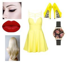 """""""Untitled #35"""" by shiyfashionista on Polyvore featuring Topshop, TaylorSays, Olivia Burton and Winky Lux"""