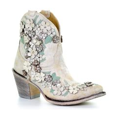 Shoe Boots, Ankle Boots, Shoe Bag, Vintage Boots, Vintage Outfits, Corral Boots, Cowgirl Boots, Beautiful Shoes, Country Girls
