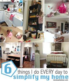 6 things to simplify my home -AndreaDekker.com