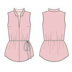 Spit Up & Stilettos: Harper Blouse Pattern