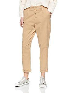 Trousers Women, Cool Girl, Khaki Pants, San, Beige, Amazon, Stuff To Buy, Fashion, Taupe