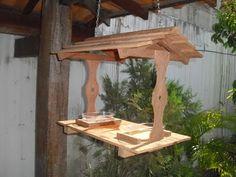 Bird Feeder Plans, Bird Feeders, Birdhouse, Wood Projects, Woodworking, Birds, Animals, Home Decor, Diy Wood