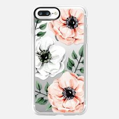 Casetify iPhone 8 Classic Grip Case - Watercolor anemones by Victoria Ryabinina Cool Phone Cases, Iphone 7 Plus Cases, Samsung Cases, Iphone 5s, Casetify Iphone 7 Plus, It Goes Like This, Latest Iphone, Apple Watch Models, Iphone Accessories