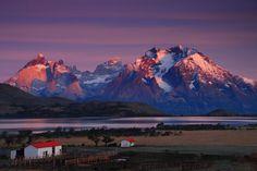 Sunrise in Torres del Paine